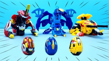 咖宝蛋神玩具:提拉轰、特拉轰和大力轰登场,你最喜欢哪个呢?