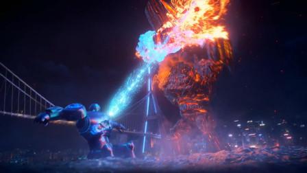 2021奇幻动画《巨怪猎人》,泰坦巨兽攻打地球,场面堪比动画版的《环太平洋》