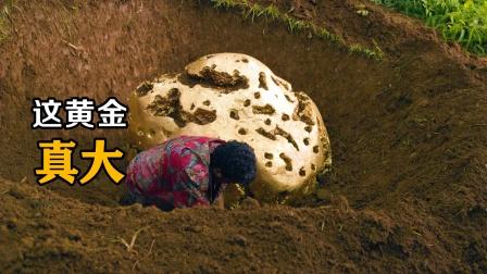 男子在荒岛上发现大金块,结果越挖越大,最后只能含泪离开!