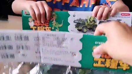 恐龙工程车,一人一个