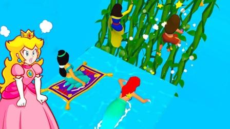 公主冲冲冲:小妖变身各种公主,决定打败女巫去救王子