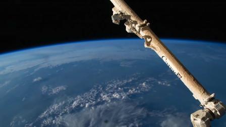 400公里高的地球!大家好,这里是太空