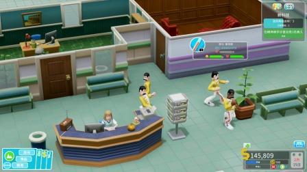 医院模拟器,建了个精神病院,精神患者歪头横着走路
