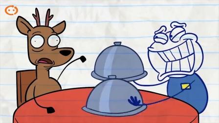 铅笔动画:铅笔人被逮捕了 第1集