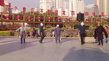 西宁中心广场藏族锅庄视频448