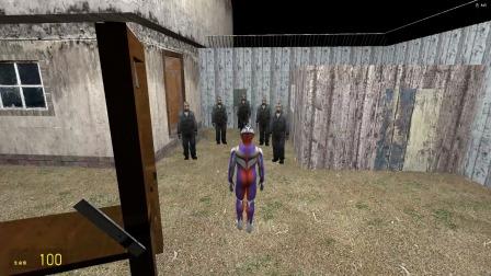 迪迦奥特曼发现密室门口有一群蒙面人怎么办?