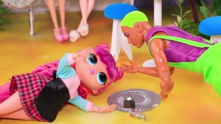 芭比娃娃DIY救护小工艺!