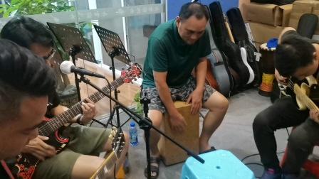《朋友》~Lubaba乐队排练改编歌曲框架记录~变态鼓手文锅~2021年7月29日