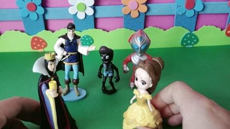 益智玩具:王后想把王位传给白雪