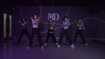 晚班学生翻跳jojo编舞《MONTER》性感与力量的结合