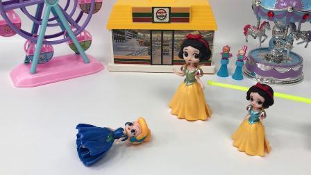 贝尔公主不要小贝尔了,白雪妈妈把小贝尔领回家