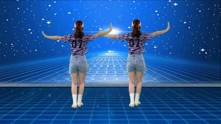 最新背面广场舞《谁先认真谁流泪》其实是喜欢上了音乐才跳起了舞