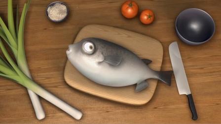 一条鱼为了摆脱被吃的命运,竟然学会了飞翔,看懂的人都哭了