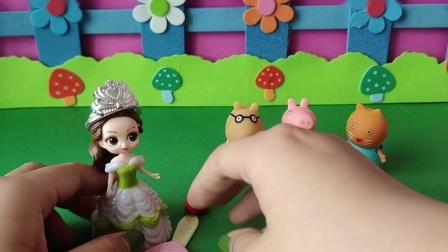 益智玩具:贝儿抢了小朋友的糖
