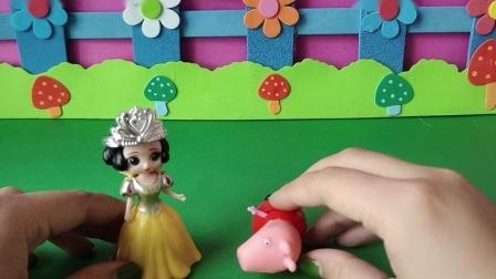 益智玩具:白雪帮助佩奇
