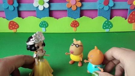 益智玩具:白雪给坎迪一个好吃的汉堡