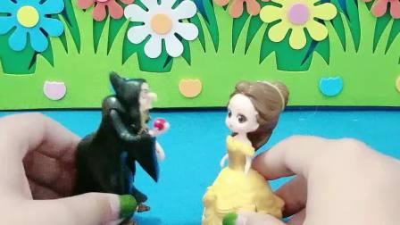 益智玩具:怪兽怎么追到巫婆婆家里了