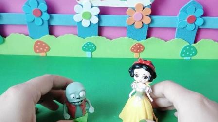 益智玩具:白雪愿意跟小鬼做朋友