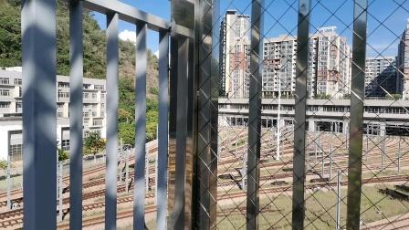 深圳地铁2号线253车在蛇口西车辆段出库