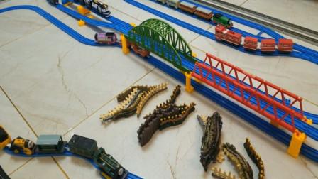 趣味益智玩具火车轨道 托马斯小火车