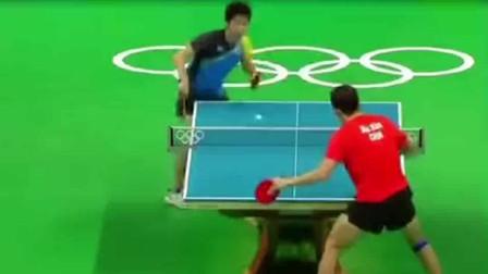 中国队马龙遭到日本选手挑衅后霸气回怼,看着太解气了!