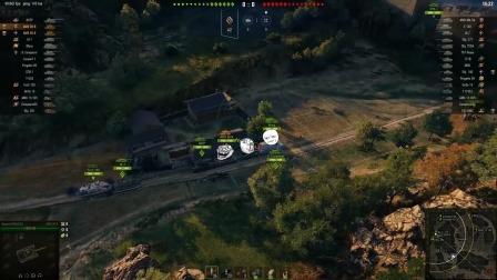 坦克世界精彩TOP:打炮排好队