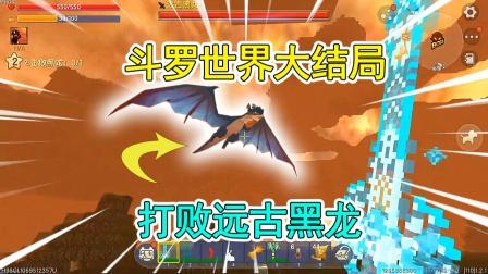 """爆笑迷你:斗罗大陆大结局!打败""""远古黑龙"""",地心世界恢复和平"""
