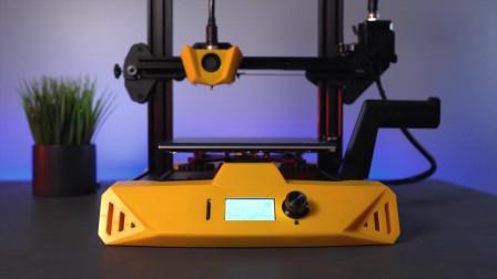 开箱大黄蜂Hornet桌面3D打印机,打印效果非常奈斯