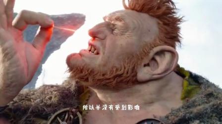 圆梦巨人(下):善良的巨人与小女孩联手对付食肉巨人!