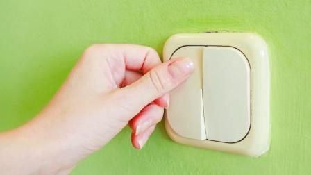 旧电路怎么改成一灯双控?教你个好方法,不用开槽也不用重新放线