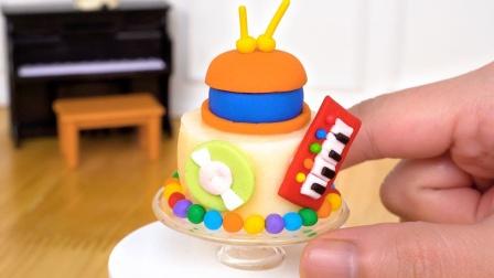 儿童娃娃亲子手工过家家:一起来打造有趣的儿童小蛋糕吧!