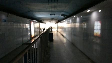 娄底火车站地下通道夏天好凉快,2021,8,2,14:09