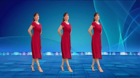 优美中三基础舞步《月亮女神》带口令跟跳就能会,简单好学