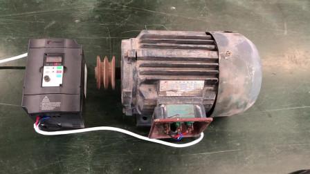 变频器直流制动,应用在什么场合?需要设置哪些参数?