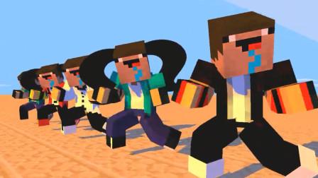 我的世界动画-菜鸟群舞