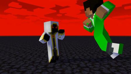 我的世界动画-实体303 vs Herobrine