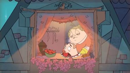 人性动画《猪命》,小猪为了活命学做人类宠物,谁知结局太讽刺