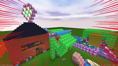 迷你世界:奥特曼游乐园,还有遨游太空过山车