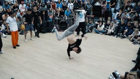 街舞大神国际比赛瞬间全都是高手啊