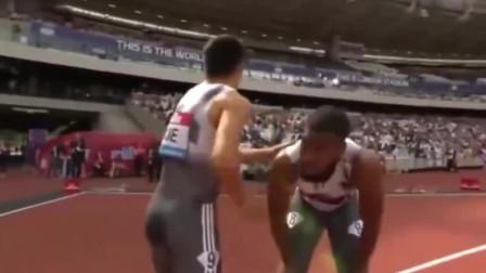 中国飞人谢震业19秒88,夺男子200米比赛冠军,瞬间全场沸腾!