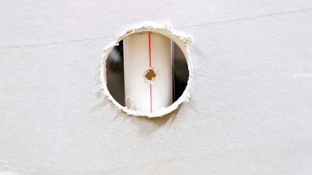 墙里水管破了个洞怎么补救?先别急着砸墙,只要打个补丁就能用了