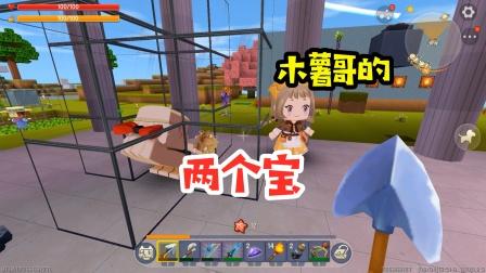 王木薯极限空岛143:木薯哥的两个宝!