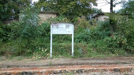 老娄邵铁路娄底市娄星区段茶园火车站(废弃)2021,8,4