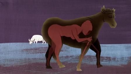 王后被神诅咒爱上公牛,不惜披上伪装勾引,最终产下一个怪物