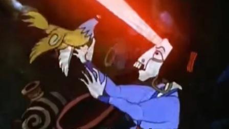 童年阴影动画,鸡为了拯救人类大战老妖怪,成就了鸡年!