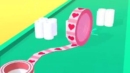 趣味小游戏:草莓滚轮,留下印记