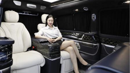 谁才是高端MPV之王?3款100万以上的奔驰保姆车,比LM还奢华?