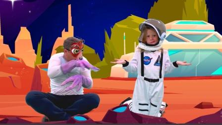 小萝莉变身宇航员去火星探险,结果如何