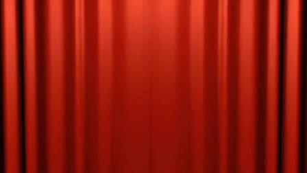 舞台红色幕布素材背景