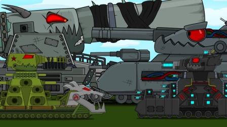 坦克世界动画:钢铁怪兽II